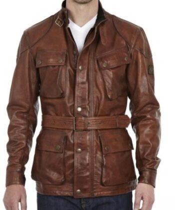 men's pilot leather jacket