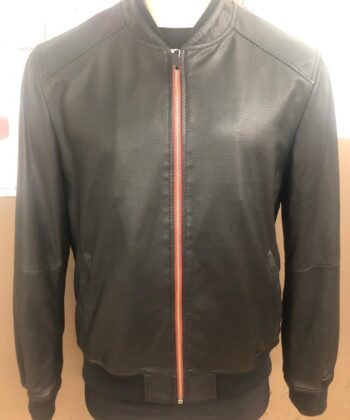 mens leather jackert lamb
